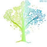 生物演化谱系图解 免版税库存图片