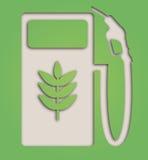 生物燃料标志 免版税库存照片