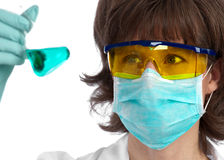 生物科技发展 免版税库存照片
