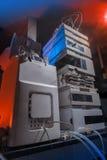 生物科技实验室设备 免版税库存照片