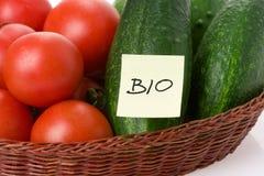 生物蔬菜 库存图片