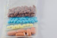 医生的药物治疗 免版税库存照片