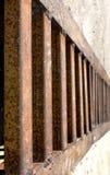 生锈格栅的金属 免版税库存照片