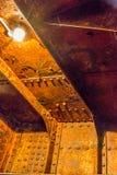 生锈的减速火箭的铁 库存照片