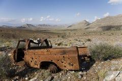 生锈的卡车 库存图片