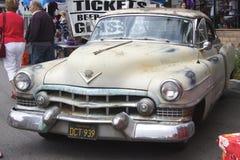 生锈的卡迪拉克1954 CDV 免版税图库摄影
