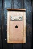 生锈的古色古香的西班牙邮箱 免版税库存照片