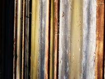 生锈的地板火车站样式 库存图片