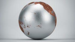 生锈的地球太平洋 图库摄影