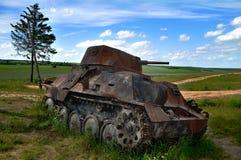 生锈的坦克 库存图片