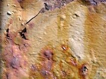 生锈的墙壁 免版税图库摄影