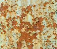 生锈的板料纹理 免版税库存图片