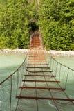 生锈的桥梁 免版税库存照片