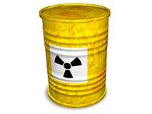 生锈的桶 向量例证