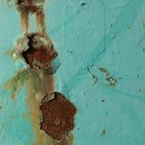 生锈的污点 图库摄影
