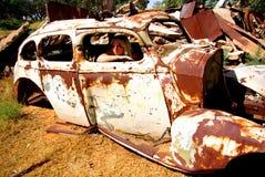 生锈的汽车老 免版税库存照片