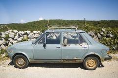 生锈的汽车 免版税库存图片