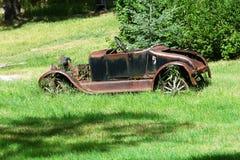 生锈的汽车 库存图片