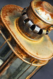 生锈的灯笼 免版税库存照片