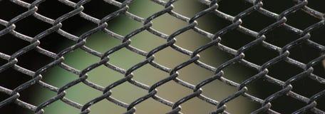 生锈的笼子导线 免版税库存图片