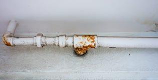 生锈的管道 免版税库存照片