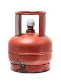 生锈的罐装液化气 免版税库存照片