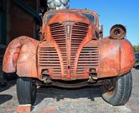 生锈的老卡车 图库摄影