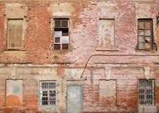 生锈的老墙壁背景 库存图片