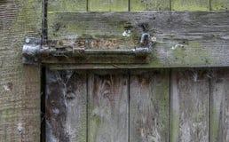 生锈的老未使用的螺栓 免版税库存照片