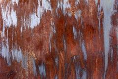 生锈的老金属和铁样式纹理,拷贝空间背景  免版税库存照片
