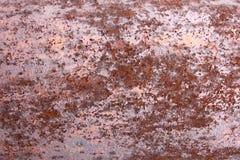 生锈的老金属和铁样式纹理,拷贝空间背景  免版税图库摄影