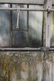 生锈的肮脏的破裂的墙壁纹理 免版税库存照片