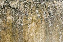 生锈的肮脏的破裂的墙壁纹理 免版税库存图片