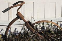生锈的自行车 免版税图库摄影