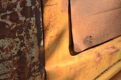 生锈的葡萄酒汽车 库存图片