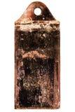 生锈的葡萄酒火炉制音器 库存图片