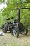生锈的蒸汽引擎 免版税库存照片