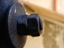 生锈的螺栓 免版税图库摄影