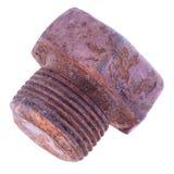 生锈的螺栓 库存图片