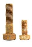 生锈的螺栓 库存照片