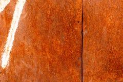 生锈的被弄脏的金属墙壁纹理样式 库存图片