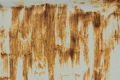 生锈的车库门或铁板料 免版税图库摄影