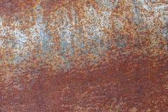 生锈的金属、被绘的灰色油漆粗心大意地,难看的东西金属表面、巨大背景或者纹理创造性的背景您的proj的 免版税库存照片