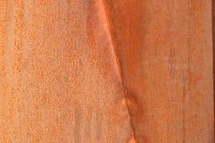 生锈的金属墙壁在魁北克,加拿大 库存图片