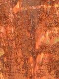 生锈的金属板 免版税库存图片