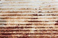 生锈的金属板 免版税库存照片
