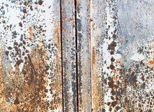 生锈的金属框架纹理背景 免版税库存照片