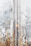 生锈的金属框架纹理背景 免版税库存图片