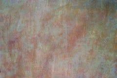 生锈的金属水彩艺术纹理/难看的东西背景 免版税库存图片