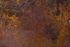 生锈的金属片织地不很细背景和摘要 图库摄影